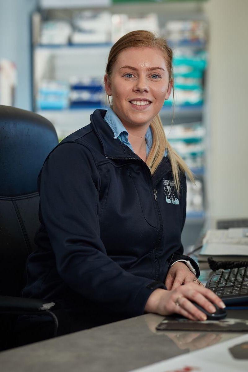 Vet Nurse Receptionist Danielle